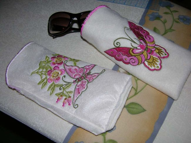 Abc embroidery projects fleecesunglasscases